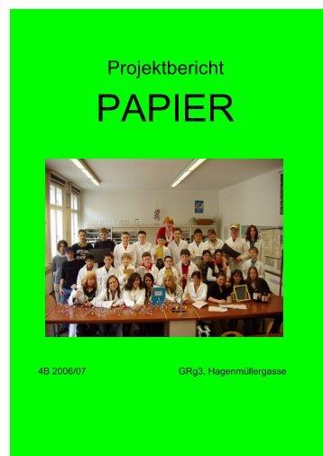 Papierprojekt - IMST