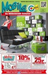 Junges Wohnen Aktion ab 05.08. bis 17.08.2013 - Moebel-mobile.de