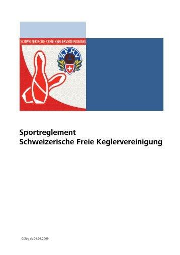 SFKV Sportreglement - Unterverband Stadt Luzern
