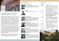 Flyer zur Veranstaltung - Regio Augsburg Wirtschaft