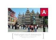 1.) Themenstadtführungen Antwerpen - Tourismus Flandern-Brüssel