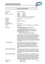 datasheet ct 260 ge - Perimeter Protection Group