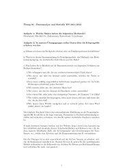 ¨Ubung 01 - Datenanalyse und Statistik WS 2011/2012 Aufgabe 1 ...