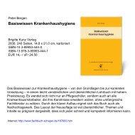 Basiswissen Krankenhaushygiene - Pflegen-online.de