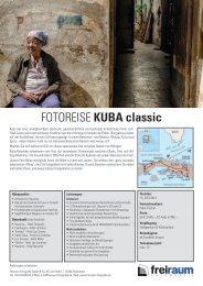 FOTOREISE KUBA classic - Freiraum Fotografie