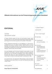 Offizielle Informationen aus der Primarschulgemeinde Oetwil ...