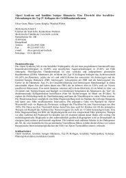 Alport Syndrom und familiäre benigne Hämaturie ... - Alport Syndrome