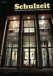 Schulzeit - interkultureller Dialog am Abendgymnasium (pdf-Datei ...