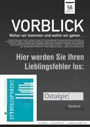 Hier werden Sie Ihren Lieblingsfehler los: - Stadtgespräche Rostock