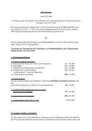Dritte Satzung vom 02.03.2006 zur Änderung der ... - Bad Sobernheim