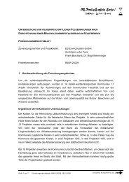 Zuwendungsnehmer und Projektleiter - Baden-Württemberg