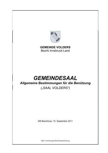 Checkliste Küche Gemeindesaal [PDF, 22.0 KB]
