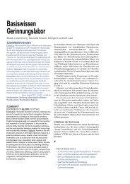 Basiswissen Gerinnungslabor - Mtaschule-os.de