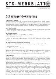 Schadnager-Bekämpfung - Schweizer Tierschutz STS