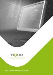 Flexible Systeme erfordern individuelle Lösungen - Böhm Gmbh ...
