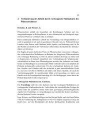4 Verhinderung des Befalls durch vorbeugende Maßnahmen des ...