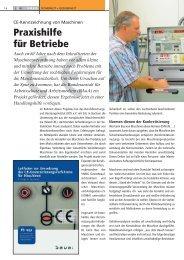CE-Kennzeichnung von Maschinen - BIT