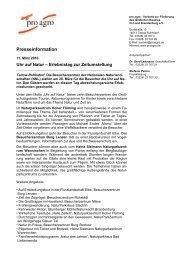 Presseinformation - Natur-Schau-Spiel