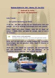 """"""" Seekrank im Hafen """" - Die Nacht von Nonnenhorn - - Big-max-web.de"""