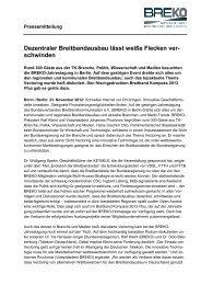 Download der Pressemitteilung - Breko