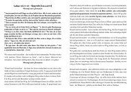 Lukas 18,31-43 - Estomihi [10.2.2013] - Felsisa