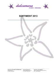 SORTIMENT 2013 - dulcamara