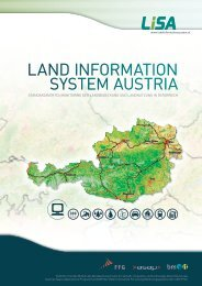LISA-Broschüre Langversion - Development of the Austrian Land ...