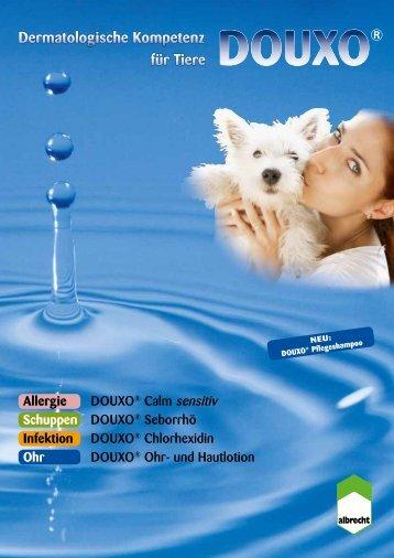 Dermatologische Kompetenz DOUXO® für Tiere - Albrecht