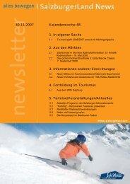 Nummer 48/2007 - SalzburgerLand Netoffice