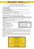 Katalog Käsereibedarf 2010 - Effinger Klaus - Page 2