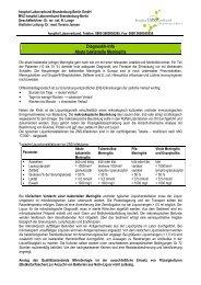 akuter bakterieller Meningitis - hospital Laborverbund Brandenburg ...