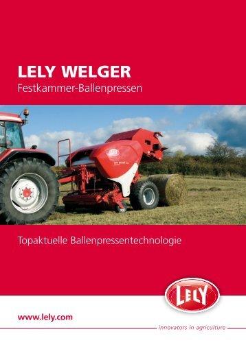 LELY WELGER - Lah Tehnik