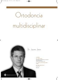 Dr. Jaume Janer - Ortodoncia Invisible Adultos