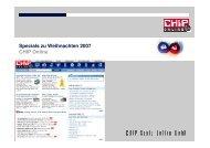 Specials zu Weihnachten 2007 chip Online