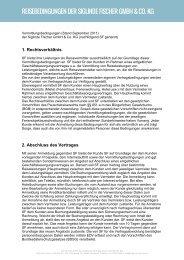 Vermittlungsbedingungen als PDF pdf - Siglinde Fischer KG