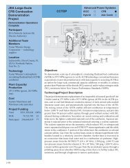 JEA Large-Scale CFB Combustion Demonstration Project CCTDP