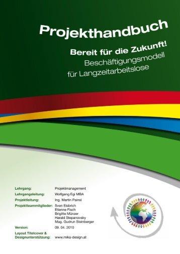 Projekthandbuch für Kleinprojekte - Balance Akademie