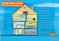 Saving Starts @ Home: The Inside Story on Conserving Energy