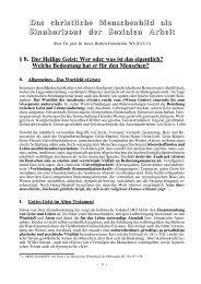 8. Der Heilige Geist - Theologie-Skripten
