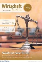 Nichts ist ohne Risiko - Berliner Zeitung