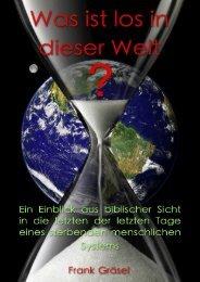 Kapitel 1 - Was ist los in dieser Welt?