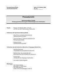 Pressebericht: - Kreissparkasse Ostalb