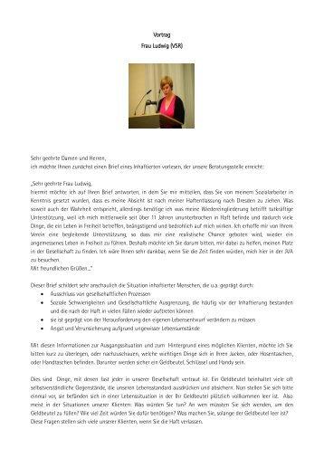 Vortrag Frau Ludwig (VSR)