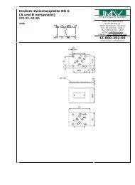 Umlenk-Zwischenplatte NG 6 (A und B vertauscht) IZ-860-202-00