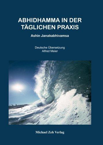 ABHIDHAMMA IN DER TÄGLICHEN PRAXIS - Abhidhamma.de
