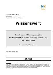 10-155 - Hessischer Rundfunk