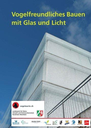Vogelfreundliches Bauen mit Glas und Licht - LANUV NRW