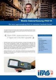 weitere Infos über die Mobile Datenerfassung iFAS V4 - iFAS ERP ...