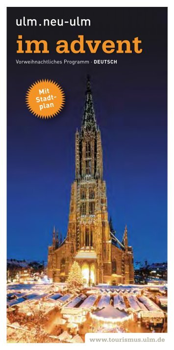 Flyer 'Ulm/Neu-Ulm im Advent 2013' (pdf / 5 MB)