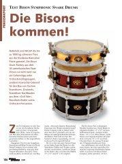 Die Bisons kommen! - The Bison Drum Company